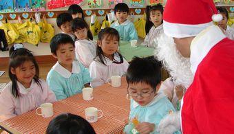 12月19日 サンタクロースがやってきた