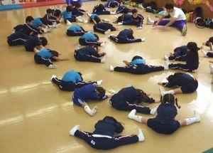 「体操クラブ」 H21.4.24(金) 曇り