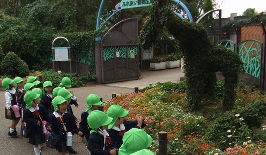 10月19日 園外保育(年少さん)